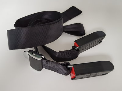 Static IsoFix Belt / Hip Belt / Lap Belt