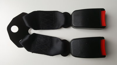 Dubbele auto gordel ontvanger receiver 14 type:A (21mm) E4 kwaliteitskeurkmerk