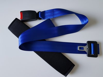 Traction belt / Fixation belt for Physiotherapy with cover (black)
